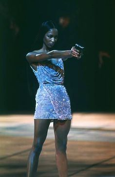 Naomi Campbell at Versace S/S 1998, Menswear. #runway