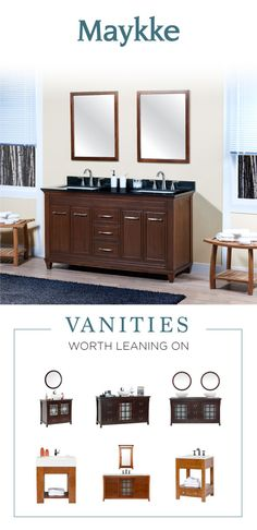 make your bathroom a sanctuary with a double vanity