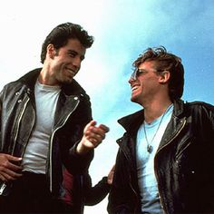 Kenickie and Danny Zuko from Grease Danny Zuko, Grease 1978, Grease Movie, Grease Boys, Grease Party, James Dean, Kenickie Grease, Kenickie Murdoch, Movies Showing