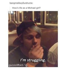 We're all dying and having a hard time to cope with reality #weloveyoumikey #getwellsoonmikey