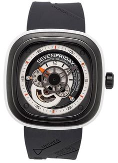 SEVENFRIDAY P-SERIES WATCH Mod. P3/3 SKELETON 40 hour power reserve