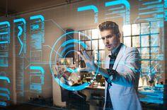 """otra """"moda"""" para el futuro: pantallas trasparentes del tamaño de una pared, touch y son monocolor. con miles de datos.  JAJAJA"""