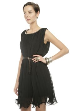 Accordion Pleat ~~LBD