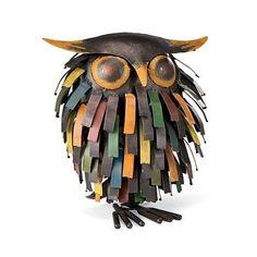Beautiful Owl Yard Art