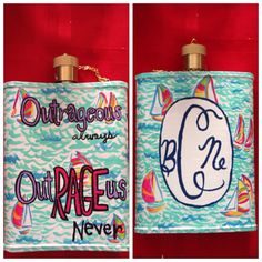 Outrageous. Always. Out.RAGE.us. Never. #srat #tsm #crafts #flask