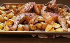 Κοτόπουλο λεμονάτο με πατάτες και μυρωδικά στο φούρνο | Συνταγές - Sintayes.gr