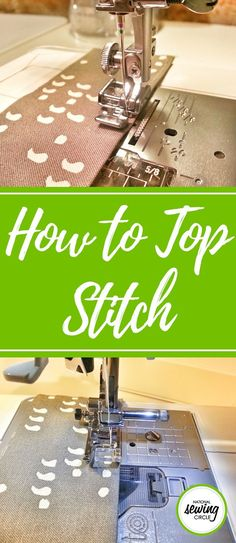"""Top-stitching is a really handy technique, especially for sewing projects like a tote or any other sort of bag. But you might be wondering why it's called """"top-stitching"""" if you happen to be doing it on the bottom of the bag! I like to think of top-stitching as anything that is on the """"top"""" or exterior of the bag that other people can see. General sewing or """"stitching"""" happens inside the bag, usually on the wrong sides of the fabric and no one ever sees those stitches."""