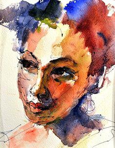 Lil by Joe Mac Kechnie Watercolor