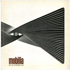 Mette Bratvold, Grete Jalk, Jørgen Kastholm [Editors]: Mobilia no. 182. Snekkersten, Denmark: Mobilia, September 1970.
