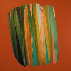 'Autumnal Crystal' by Mark Jessett, 2017, acrylic on paper over board  www.markjessett.com #abstractpainting #contemporaryabstractart