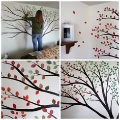 This is such an amazing idea! A real family tree ...