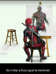 Deadpool Drax Guardians of the Galaxy invisible man Infinity War Avengers Marvel Dc Comics, Marvel Avengers, Memes Marvel, Dc Memes, Avengers Memes, Marvel Funny, Marvel Art, Marvel Heroes, Marvel Movies