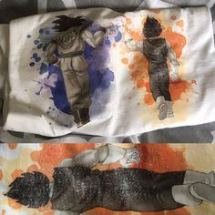 Dragonball shirt Miss Print error by GreyFoxDesign on Etsy