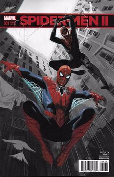 Marvel Spider-Man II comic issue 1 Limited variant A