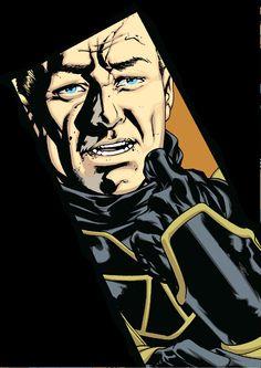 Ronin (Clint Barton) by Mike McKone Barton Marvel, Clint Barton, Gi Joe, Marvel Dc, Marvel Comics, Pacific Rim, Hawkeye, Enemies, Transformers