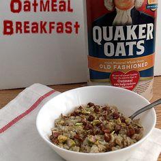 Exotic Oatmeal Breakfast