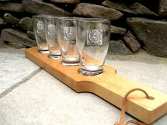 Items similar to Best Groomsman Gift BEER Flight - Personalized Beer Flight - Beer Paddle with Glasses on Etsy Best Groomsmen Gifts, Wedding Gifts For Groomsmen, Groomsman Gifts, Groomsmen Presents, Groom Gifts, Wedding Favors, Engraved Beer Glass, Craft Beer Glasses, Personalised Glasses