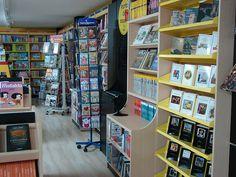 Interior librería Espacio Lector Nobel de Vila-real