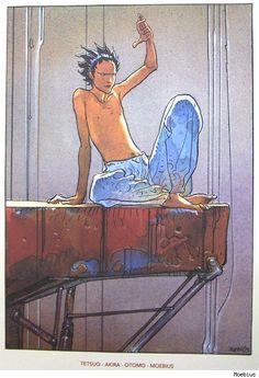 Akira: Testuo by Moebius