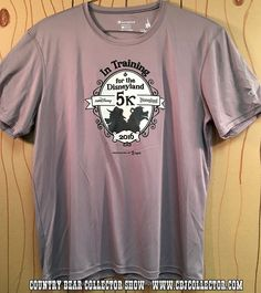 EPISODE 41 - http://www.saturdaymorningmedia.com/2016/04/cbcs-041/ - Say there friends, take a look at this!  There's a brand new Country Bear related shirt on the market and it features fun silhouettes of Big Al and Liver Lips!  It was released to celebrate the 2016 Disneyland 5k which features the bears as mascots.  Find out what 'Paw Rating' our host gives this brand new shirt!  PRODUCT INFORMATION 2016 Run Disney Disneyland 5k Training Shirt
