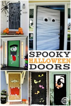 Halloween Is Coming Soon And There Are So Many Fun Ways To Decorate Your  House, Including A Fun Halloween Front Door!