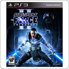 chegou: PS3 Star Wars The Force Unleashed 2 R$79.90