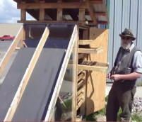 Plans for diy solar food dryers, (also solar stills to purify water, and root cellars.)