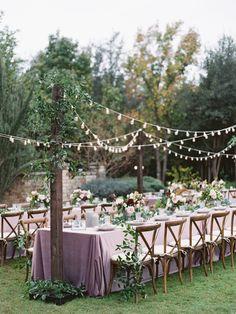 Rustic Chic Fall Wedding at Clark Gardens from Charla Storey Photography - MODwedding Mod Wedding, Garden Wedding, Fall Wedding, Rustic Wedding, French Wedding, Lavender Wedding Theme, Wedding Colors, Lavender Wedding Decorations, Clark Gardens