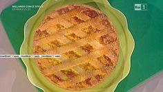"""La ricetta della pastiera di riso giallo ai quattro formaggi di Luca Montersino del 23 aprile 2016, a """"La prova del cuoco"""""""