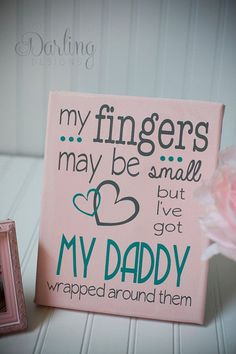 This is so going to be my daughter. she will have her daddy wrapped around her cute little fingers