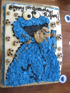 Cookie Monster Birthday Party Ideas | Photo 17 of 21 | Catch My Party