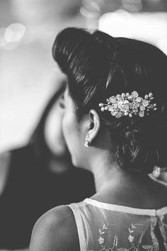 Victory Rolls Hair Style Bride Vintage 1940s London Wedding http://storyandcolour.co.uk/