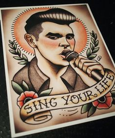 Hey, I found this really awesome Etsy listing at https://www.etsy.com/listing/120653728/morrissey-2-tattoo-flash-print
