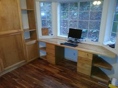 bay window desk for sale Help With Building Desk Into Double Bay