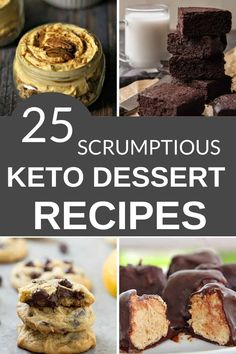 If you're following a ketogenic diet, I have found some of the bestKeto recipes that fit within the program guidelines. This list has25 scrumptious Keto Desserts that are sure to make you drool.  #itisakeeper #recipes #keto Fun Easy Recipes, Best Dessert Recipes, No Bake Desserts, Quick Easy Meals, Dinner Recipes, Cooker Recipes, Crockpot Recipes, Keto Recipes, Ground Beef Recipes