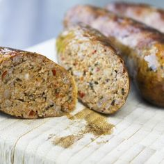 Heavily seasoned with garlic, Italian herbs and spiced up with crushed red pepper flakes and cayenne, this succulent Hot Italian Sausage is worth every effort involved in making it. You can stuff it into casings to make links, or leave it in the bulk form for browning and adding to sauces. Either way, you won't want to go back to store bought after eating this!