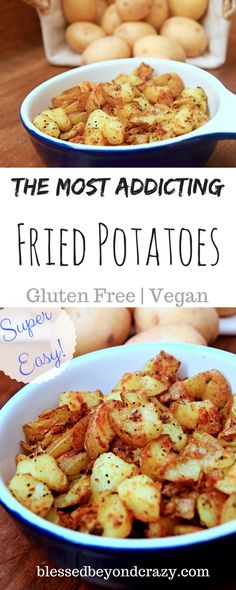 The Most Addicting Pan Fried Potatoes – So easy! Use golden potatoes! The Most Addicting Pan Fried Potatoes – So easy! Use golden potatoes! Golden Potato Recipes, Easy Potato Recipes, Side Dish Recipes, New Recipes, Cooking Recipes, Healthy Recipes, Healthy Snacks, Diabetic Recipes, Bread Recipes
