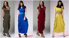 Sukienka maxi,dresowa, kieszenie,piękne kolory,r.S