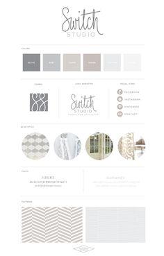 Logo Design Branding :: Switch Studio :: Saffron Avenue