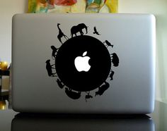 Geeky Decals Macbook Decal - - Circle of Life -- New Design Arrival Macbook Pro Sticker Macbook Air Decal for dressing your Macbook and iPad...