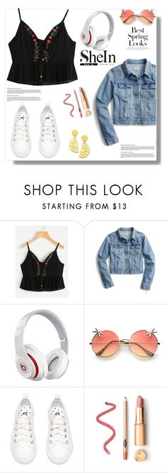 """""""Shein contest"""" by edy321 ❤ liked on Polyvore featuring J.Crew, Beats by Dr. Dre, H&M and Celebrate Shop"""