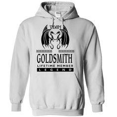 (Tshirt Top Tshirt Charts) TA2203 Team Goldsmith Lifetime Member Legend Tshirt-Online Hoodies Tees Shirts