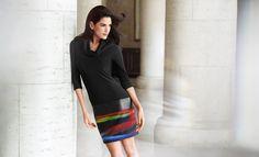 Une robe pull facile à porter ! Joseph Ribkoff - Collection automne - hiver 2016 / 2017. A retrouver dans notre boutique New Capucine à Vesoul.