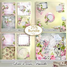 Love'n roses collection by saskia designs