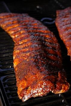 Tender Grilled Pork Ribs with Tangy Rib Sauce