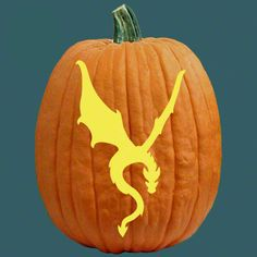 Pumpkin Carving Patterns Dragon Jack Pumpkins Holidays Crafts