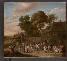 David Teniers the Younger (Flemish, 1610–1690). Peasants Dancing and Feasting, ca. 1660. The Metropolitan Museum of Art, New York. Purchase, 1871 (71.99)