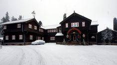 Norway - The Royal Lodge is privately owned by The King. The Royal family traditionally celebrates Christmas here.