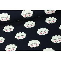 Clouds Jersey, Navy
