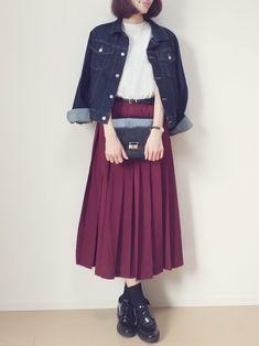 MAYUKOさんのコーディネート 2016.09.17 アウターありver Insta @gijigijigijiii Twitter @gijipom Cute Modest Outfits, Modern Outfits, Cool Outfits, Fashion Pants, Hijab Fashion, Fashion Outfits, Womens Fashion, Korea Fashion, Japan Fashion